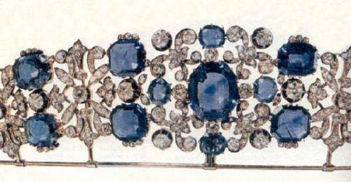 Hanover sapphire tiara