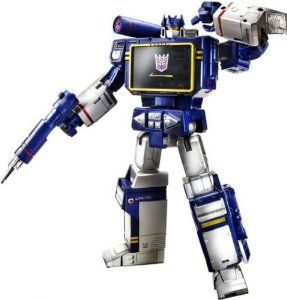 Transformers Masterpiece Soundwave 2013 Exclusive♒Thank You♒I Love You♒