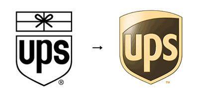 Logo evolution of UPS United Parcel Service