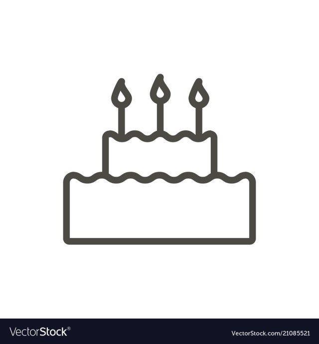 23 Elegant Image Of Birthday Cake Icon Birthday Cake Icon Cake