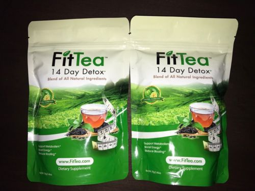 Detox and Cleansers: 2 Fit Tea 14 Day Detox Tea -> BUY IT NOW ONLY: $35 on eBay!