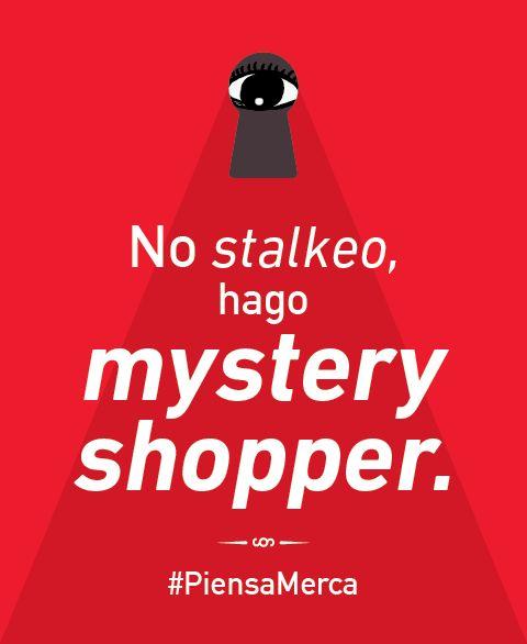 No soy stalker... #PiensaMerca