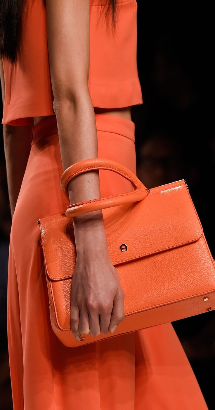 Aigner Spring 2016 ~ Milan Fashion Week