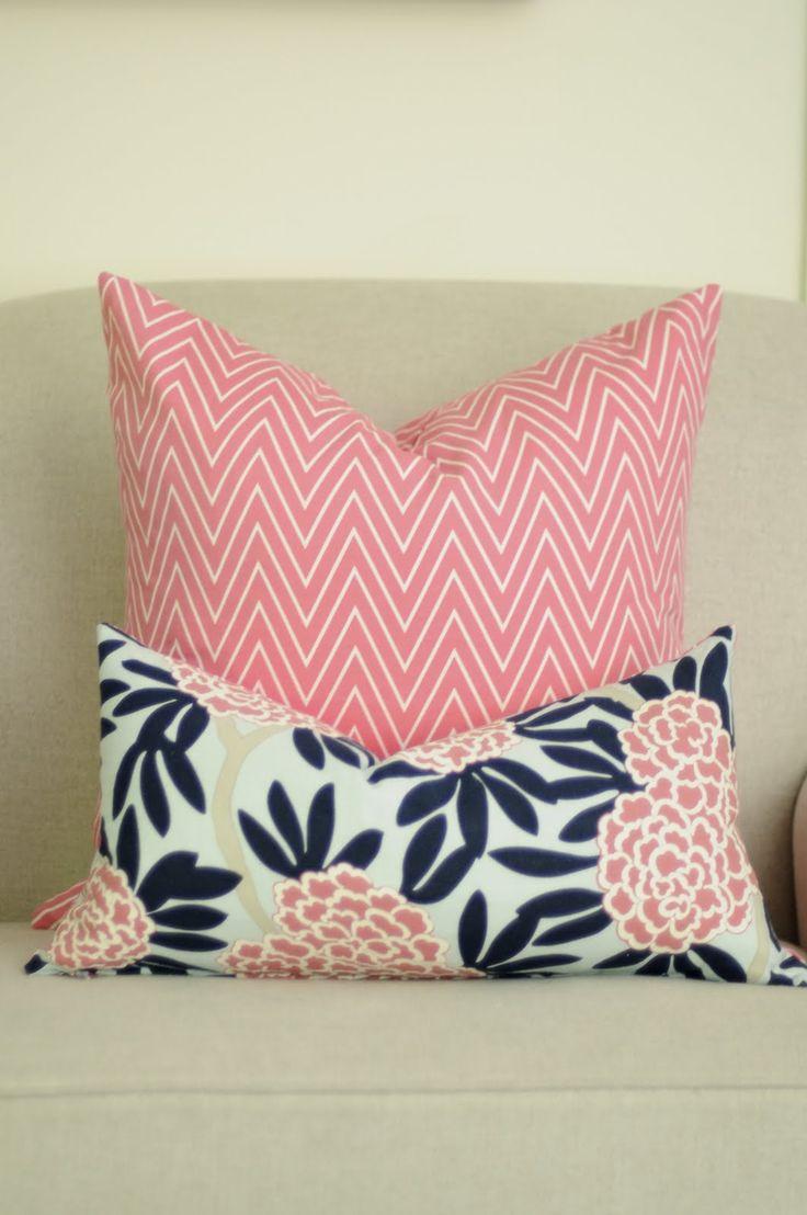 Pink Pillows @ Caitlin Edmunds