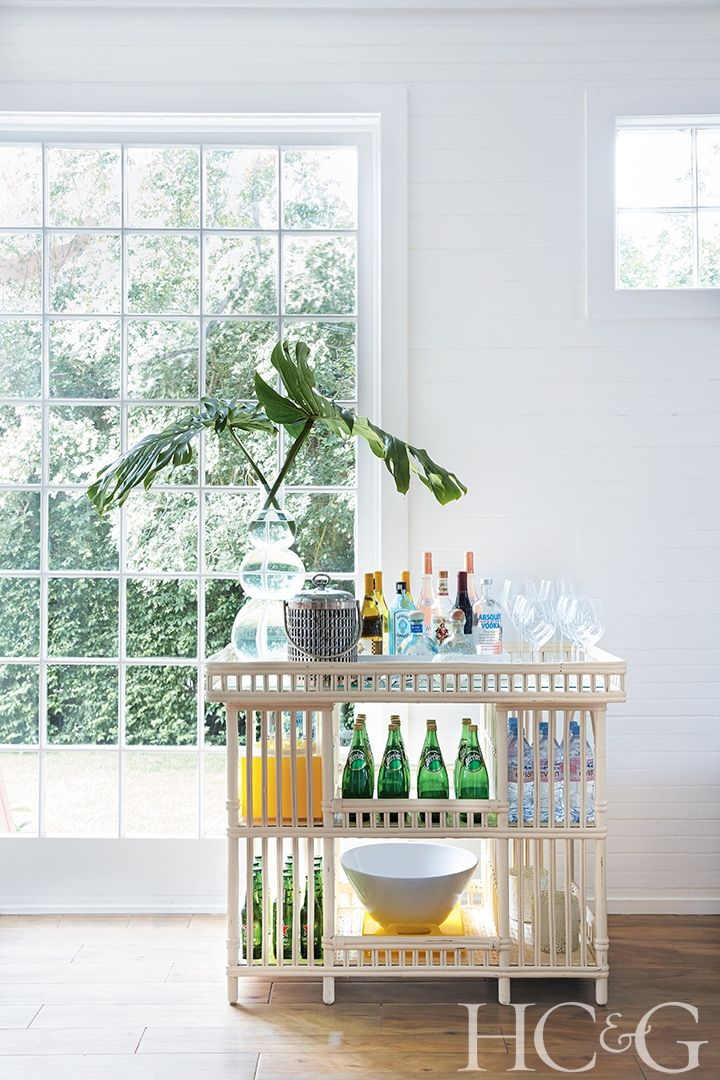 10 Unique Bar Carts For Stylish Entertaining Vintage Wicker Furniture Wicker Bar Cart Wicker Headboard