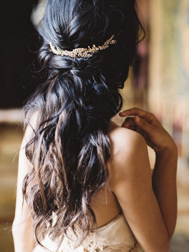 Wedding hair. This looks like it might actually look good on me.