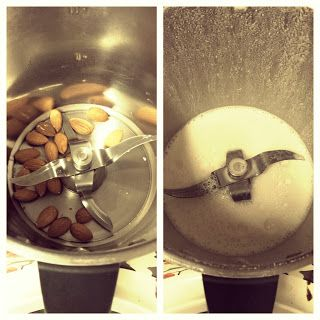 Inspire Me: Making almond milk in the thermomix for a smoothie
