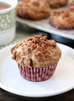 Apple Cinnamon Crumb Muffins | Recipe