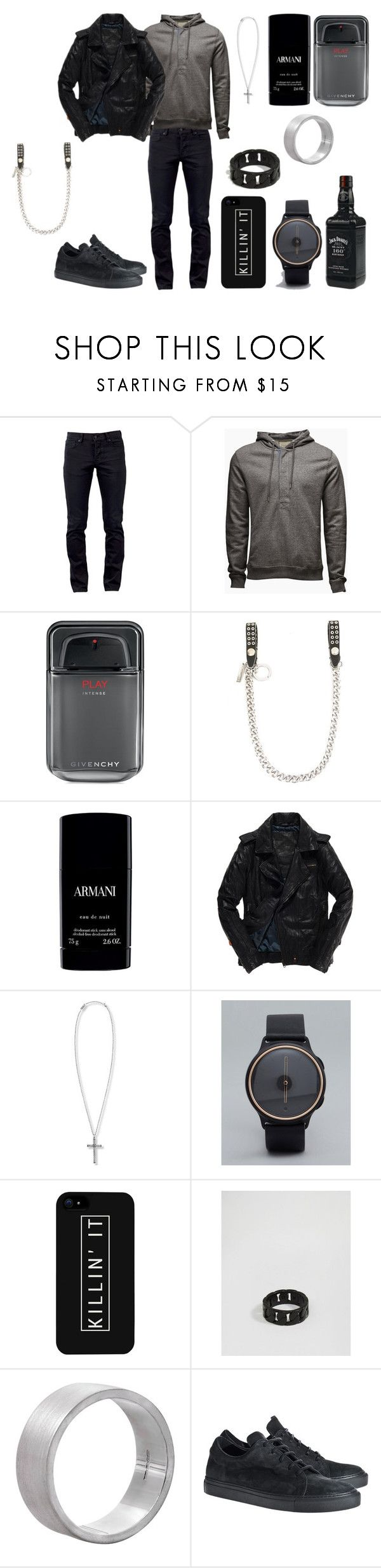 """Без названия #3876"" by southerncomfort ❤ liked on Polyvore featuring Kill City, Jack & Jones, Givenchy, Dsquared2, Armani Beauty, Superdry, Steve Madden, Misfit, LG and Icon Brand"