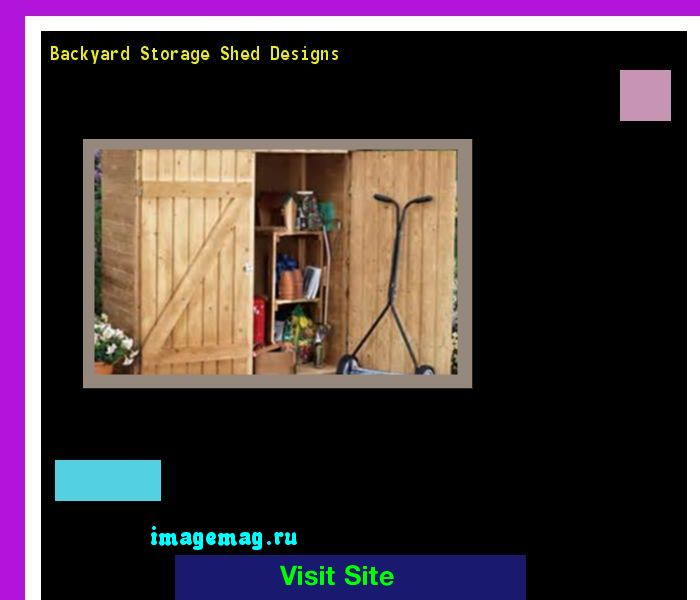 Backyard Storage Shed Designs 093546 - The Best Image Search