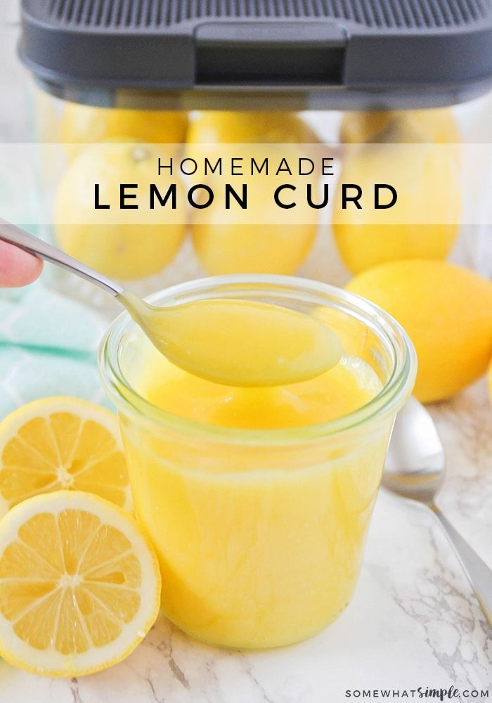 Homemade Lemon Curd Recipe With Images Lemon Curd Lemon