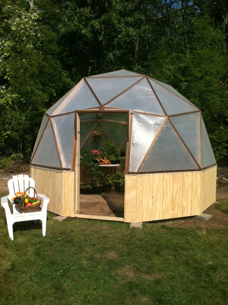 A 14 Foot Wide Geodesic Biodome... I'm In Love