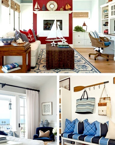 11 best celebrity homes images on pinterest celebrities for Nautical interior design ideas