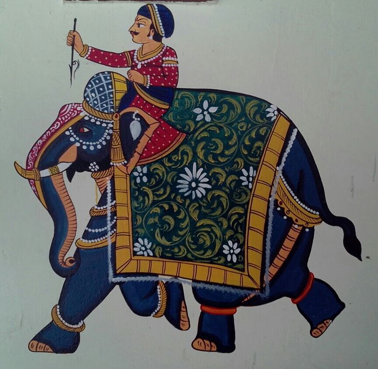 Main Gate Wall painting on occasion of Marriage