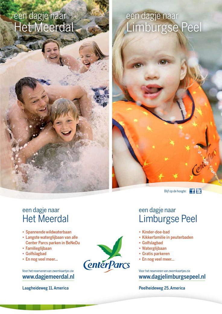 Advertentie Centerparcs America