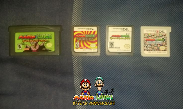 4 Mario and Luigi Games by PxlCobit