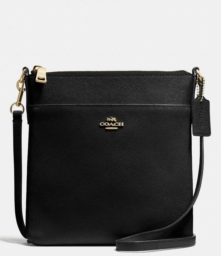 Coach crossgrain leather messenger crossbody bag dillard