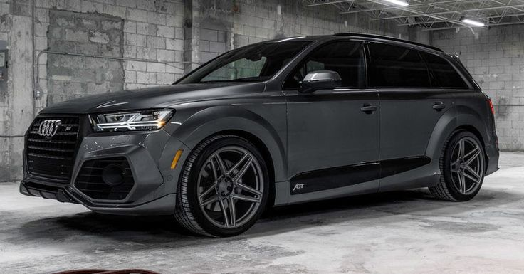 ABT Audi Q7 Limited Edition With Vossen Wheels Comes In Just 10 Units #ABT #Audi