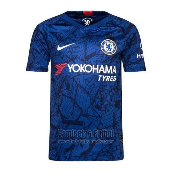 cd60c376310c1 Camiseta Chelsea Primera 2019-2020   futbol replicas   Camisetas de ...