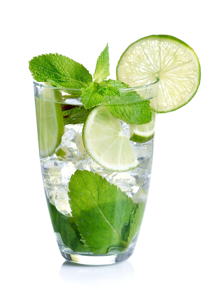 Mojito, ATKINS style! Only 1.3g net carbs.