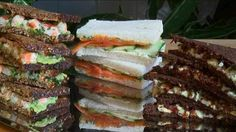 50 Tea Sandwiches   Tea Time Recipes and Things