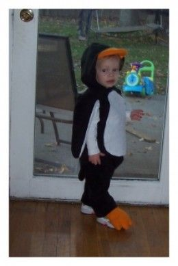 Penguin Halloween Costume Diy