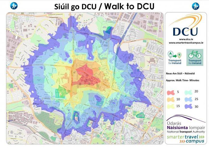 Walk to DCU