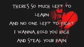 "Seether feat. Evanescence - Broken (with lyrics). Painful memories of the ""mirage"" lived for years...great song!"