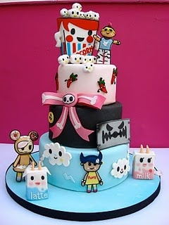Seriously amazing Tokidoki cake!! I would LOVE this as a birthday cake.
