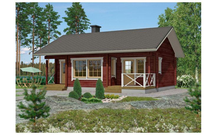 Zrubové a drevené domy KONTIO: LEHTOLA 2B LEHTOLA 2B