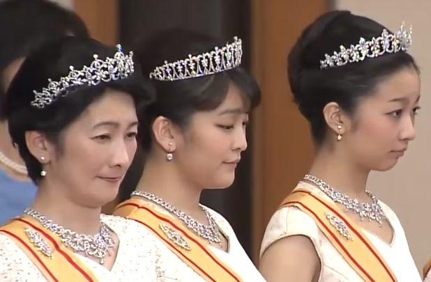 La Cour Imperiale et Royale Japonaise: Une ceremonie diamante de La Cour Imperiale