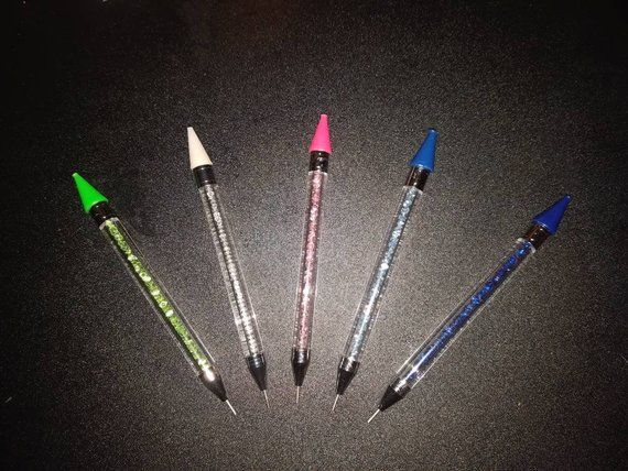 Square Round Drilling Pen Diamond Painting Picking Tools Point Beads Cute Design
