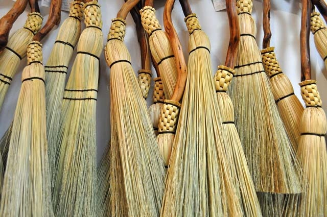 the daughters of North Woven Broom Co. started their own business in Vancouver!  Very cool...what a fun job!