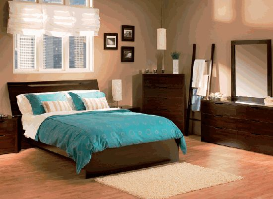 bedroom dressers | Sereno Bedroom Set with Dresser-The Best Contemporary Bedroom Design