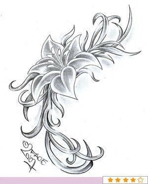 flower lotus tattoos
