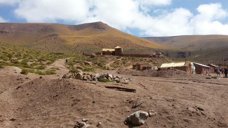 Machuca,  San Pedro de Atacama, II región de Chile