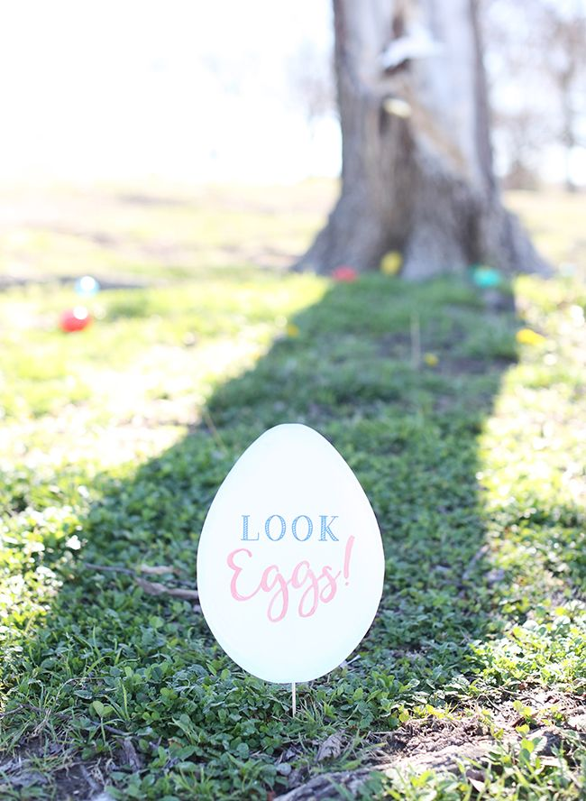 A Pastel Kids Easter Egg Hunt - Inspired By This