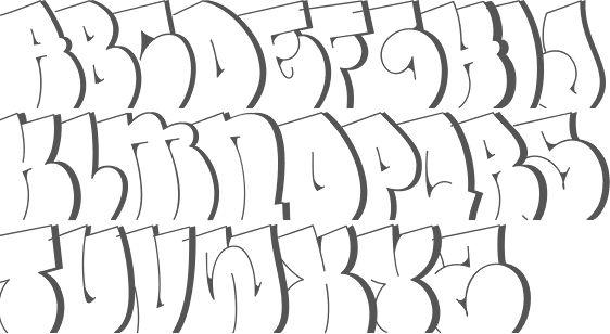 Resultado de imagem para throw up letras