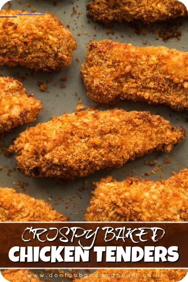 Extra Crispy Oven Baked Chicken Tenders Don T Go Bacon My Heart Chickenrecipes Here I Ll Show You The Secrets To In 2020 Lekker Eten Eten Recepten Krokante Kip