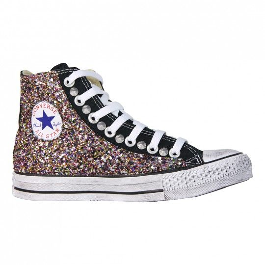 converse all star purpurina
