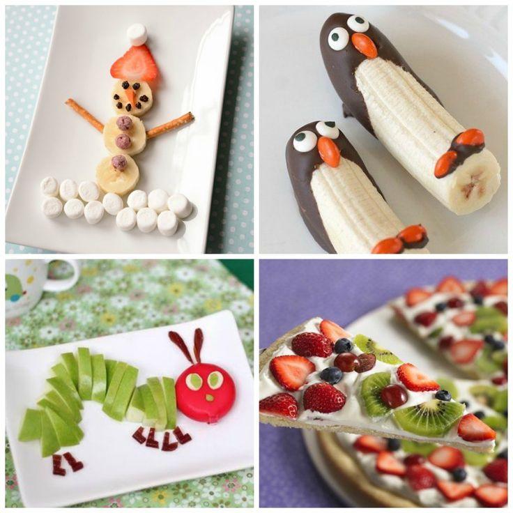 Frutas divertidas para ni os dulces comida creativa for Como preparar comida para ninos
