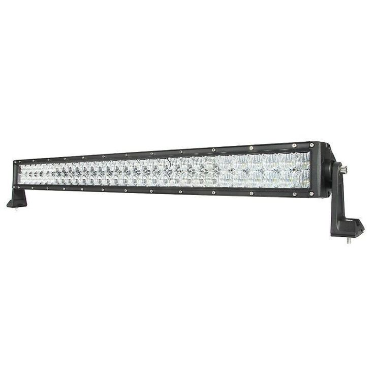 Cree 32-inch 180W Spot and Flood Straight Offroad Truck LED Light Bar with 5D Projector Lens (32 inch 180W light bar), Black