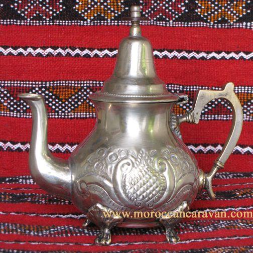 Moroccan Moroccan Vintage Teapot ID #1242