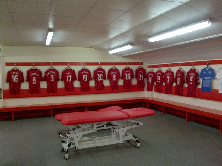 dressing room   Liverpool FC   Pinterest   Dressing room