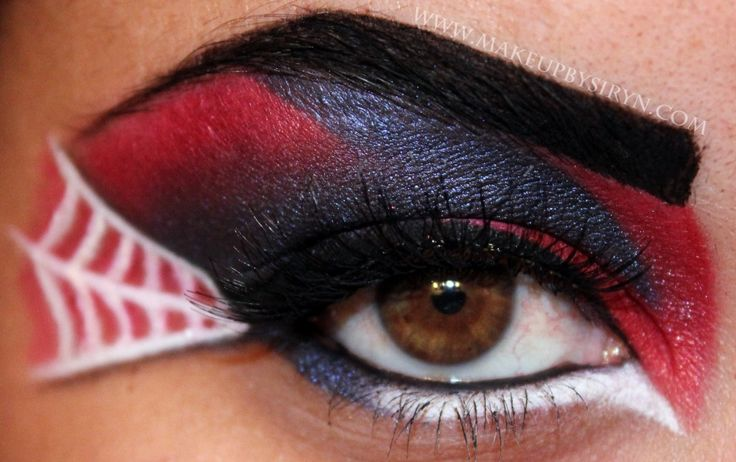 Spiderman SpidermanHalloween Eye, Eye Makeup, Halloween Costumes, Halloween Makeup, Spiderman, Spiders Man, Makeup Ideas, Halloween Ideas, Spiders Web