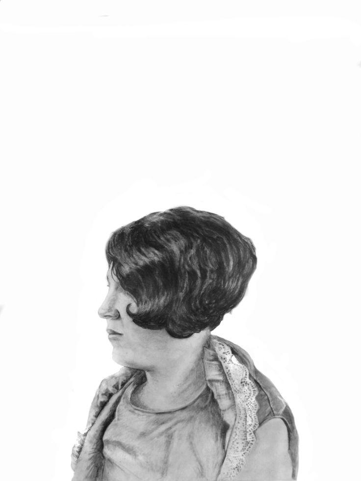 house of fallen women series - Katherne Claypole graphite on paper 2011