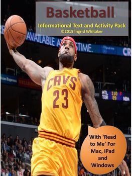 Basketball : Basketball Informational Text and Activities is a complete set of highly engaging activities for fans of the game and newcomers alike. Students of all ages and abilities can do these self-directed activities over several days or all in one activity-filled day.