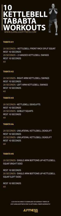 Kettlebell Tabata