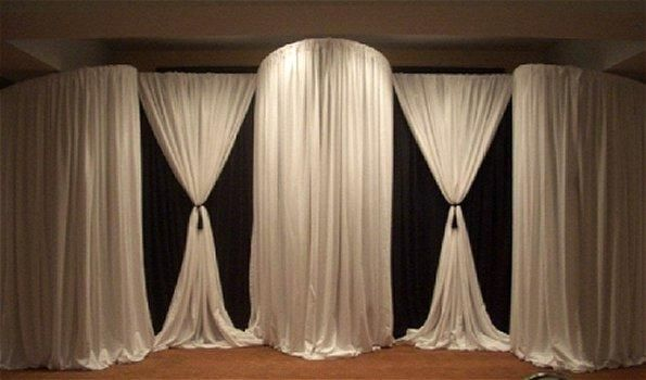 17 Best images about Draping decor on Pinterest : Wedding decor rentals, Be nice and The doors