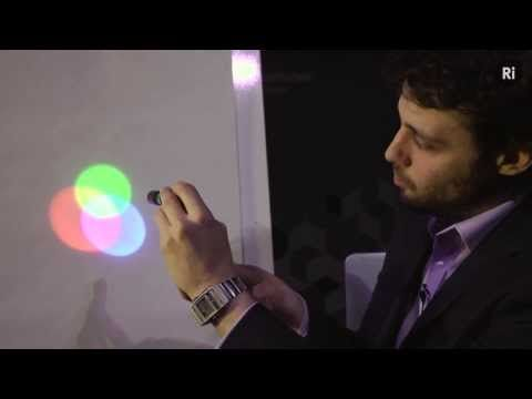 Colour Mixing: The Mystery of Magenta -'Why doesn't magenta appear in the rainbow? The answer lies not in physics but in biology.  Science presenter Steve Mould demonstrates the strange phenomenon of colour mixing, in which not everything is as it seems. The cone cells within our eyes are responsible for the colours we see, but are only sensitive to Red, Green and Blue light ...